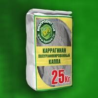 Каррагинан полурафинированный каппа (Е407а) (1000р/кг)